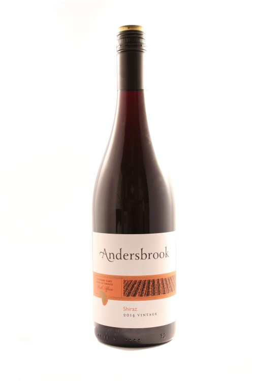 Andersbrook shiraz western cape south africa 2015 flagship for Jardin wine south africa