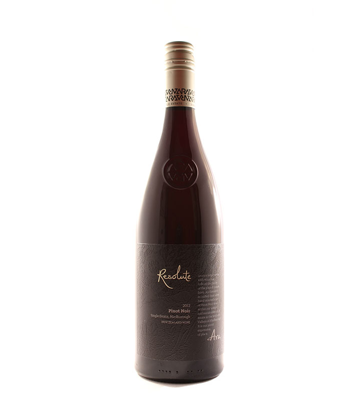 Ara-Resolute-Pinot-Noir-Marlborough-New-Zealand-2012