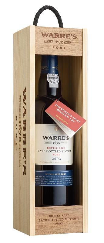 Warre's LBV 2003 + Box