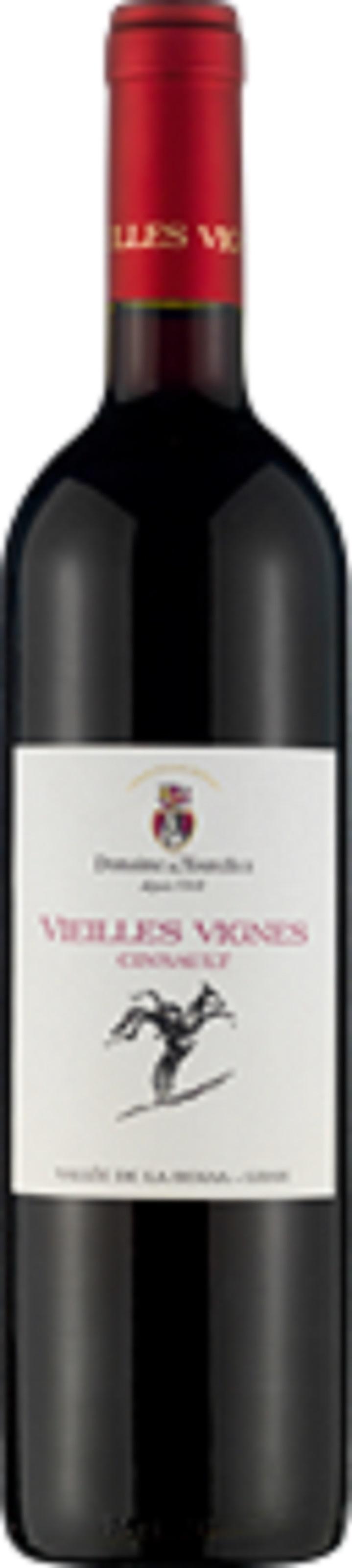 Dom des Tourelles Vieilles Vignes Cinsault