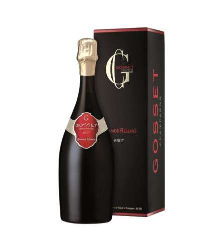 Gosset_Grande Reserve Brut bottle and box