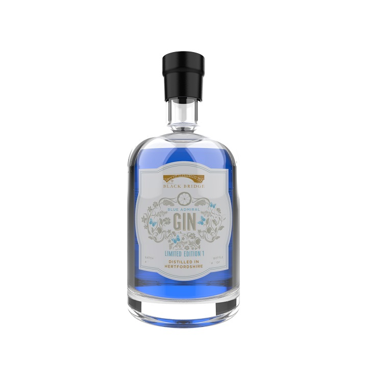 Black Bridge Limited Edition Blue Gin