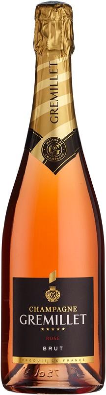 champagne gremillet rose nv