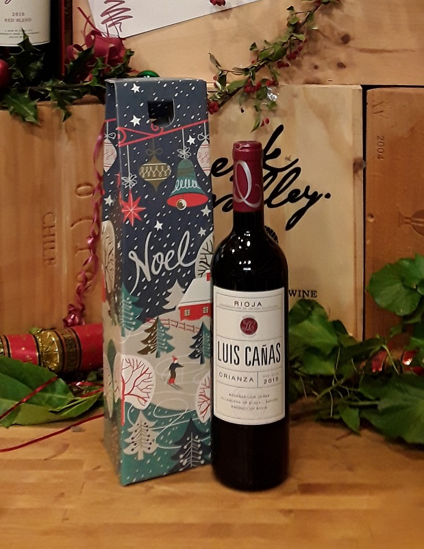 Rioja in a gift box